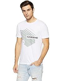 LP Jeans By Louis Philippe Men's Solid Slim Fit T-Shirt - B07DT1BSTF