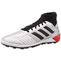 adidas Predator TAN 19.3 Turf Boots Men's Soccer Shoes, Silver, 8.5 UK (42 2/3 EU)