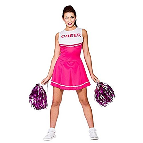 Travelday Damen-Highschool Cheerleader-Abendkleid -Up Party Halloween-Kostüm-Ausstattung (Size M UK14-16) ()