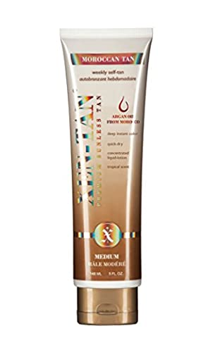 Xen-Tan Moroccan Tan With Moroccan Oil & Collagen Building Peptides For A Deep Instant Color 148ml (Tan Flawless Selbstbräuner)