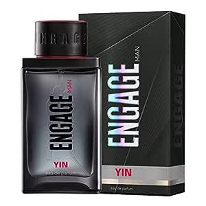 Engage Yin Eau De Parfum, Perfume for Men, 90ml