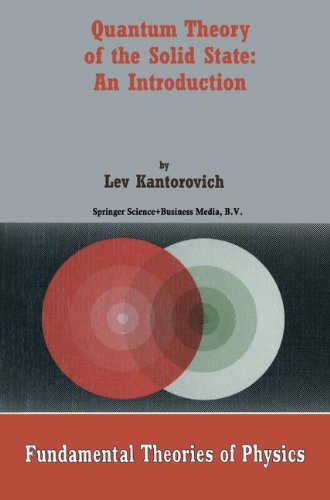 Quantum Theory of the Solid State: An Introduction (Fundamental Theories of Physics)