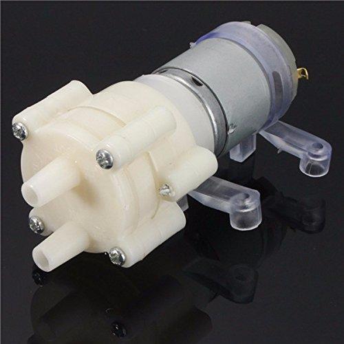 EsportsMJJ Dc6-12V R385 Aquarium Fisch Tank Rund Wasser Luft DC Membran Pumpe