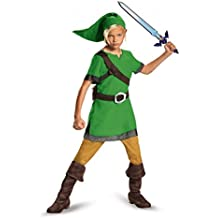 Link Child Costume-Childrens Large (10-12)