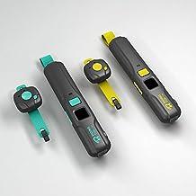 Ridingtoo RT1 Walkie Talkie Portatil con Bluetooth y Manos Libres, Recargable via USB, a