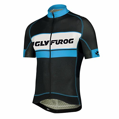 UGLYFROG Bike-T Full Zip Radsport Trikots Herren Cyling Top #H33 (Bike-trikot Spirit)