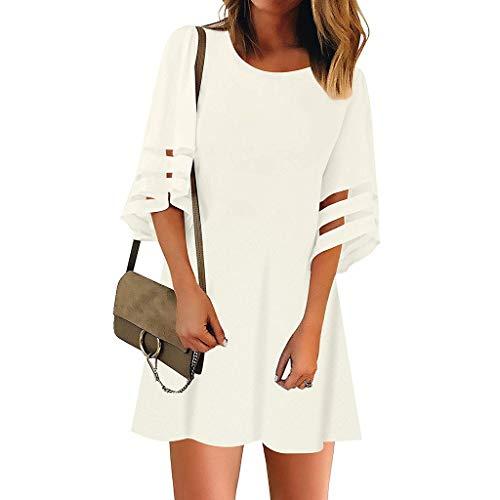 Winter Langarm Kleid Damen Braun Indianer Kleid Weiß Langarm Damen Kleider Winter Elegant Midi Vintage Kleid Damen Braune Stiefel Kleid Weiß Spitze Damen Kleider Winter Grosse ()