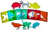 Henbea- Plantillas Mascotas traslúcidas, trasl&ampuacutecidos (915)