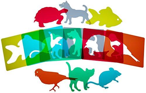 Henbea Plantillas mascotas traslúcidas (915)