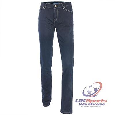 adidas Originals Womens Coolmax Super Skinny Fit Jeans Dark Rinse rrp£200