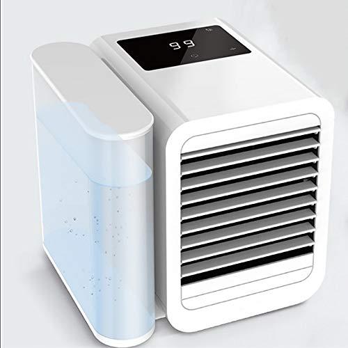 Klimaanlage USB-Ventilator - Tragbarer Mini-Luftbefeuchter, Schreibtischventilator Mit KüHler Verdunstungsluft FüR Office Home Camping ()