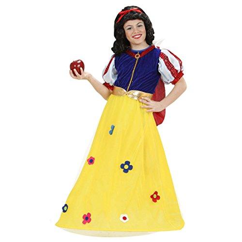 NET TOYS Schneewittchen Kostüm Prinzessin Kleid Mädchen 158 cm 11-13 Jahre Märchen Mädchenkleid Schneewittchenkostüm Disney Kinderkostüm Prinzessinnen Märchenkostüm Karnevalskostüme Kinder