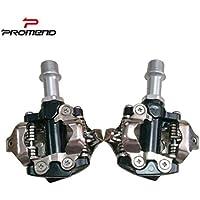 PROMEND Pedal De Bicicleta De Montaña PD-M101, Autobloqueante, Aleación De Aluminio,
