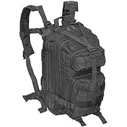 McAllister Sac à Dos de l'armée américaine Zero-Six 28 litres (45 x 25 x 30 cm/Noir)