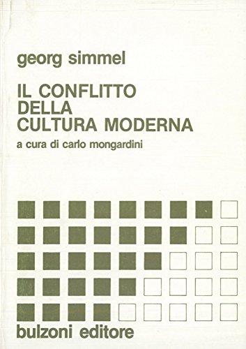 Il conflitto della cultura moderna e altri saggi a cura di Carlo Mongardini. In appendice: E. Durkheim La sociologia e il suo dominio scientifico.