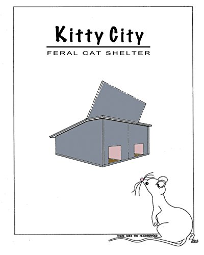 Kitty city feral cat shelter (English (Feral Cat House)