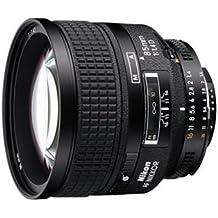 Nikon 85 mm f/1.4 - Objetivo para Nikon (distancia focal fija 85mm, apertura f/1.4) negro