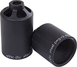 Ethic Dtc Steel Stunt Scooter Pegs, Black
