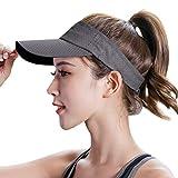 Cappello unisex estivo sportivo donna uomo cappello da sole donna tennis visiera golf maglia cappello da baseball regolabile all'aperto copertura testa di viaggio escursionismo piatto cappello a tesa