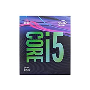 Intel Corporation Core i5 9400F 9th Generation Desktop Processor 6 Cores up to 4.1 GHz Turbo Without Graphics LGA1151 300 Series 65W (Discrete Graphic Card Needed for Display)