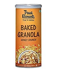 True Elements Baked Granola Honey Crunch 350gm
