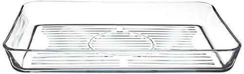 Pasabahce pirofila-Grill rechteckig, Glas, transparent, 40x 27x 5cm