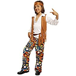 My Other Me - Disfraz de Hippie para niños, talla 10-12 años (Viving Costumes MOM00507)