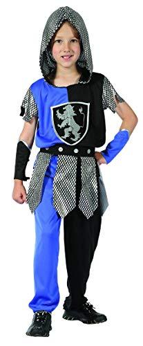 Generique - Ritter-Kostüm Blau Jungen 110/116 (4-6 Jahre)