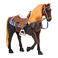 Our Generation BD38037 Thoroughbred Horse Toy, Brown