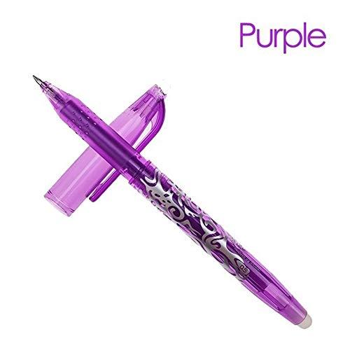 Flyes Penna cancellabile da 0,5 mm Penna neutra da scrittura magica Diverse penne a colori dell'inchiostro