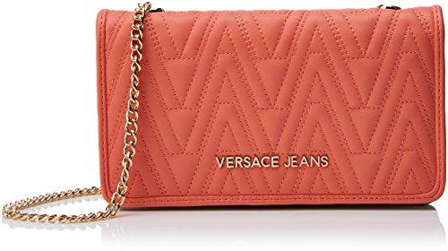 Versace Ladies Ee3vrbpy4 E70040 Tracolle, 10.5x4x19 Cm Arancione (corallo)