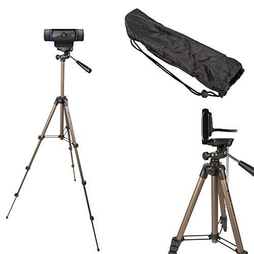 TronicXL Tripod 19 W Stativ für Webcam zb Logitech C920 Brio 4K C925e C922x C922 C930e C930 C615 Kamera etc
