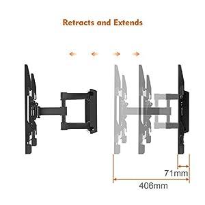 seguro accidentes: Perlegear PGLFK1-E - Soporte de pared giratorio, articulado e inclinable para pa...