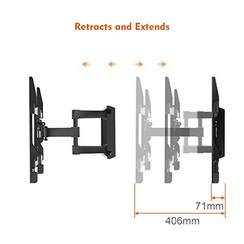 TV Wall Bracket, Tilt Swivel TV ...