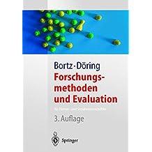 Forschungsmethoden und Evaluation: für Human- und Sozialwissenschaftler (Springer-Lehrbuch)