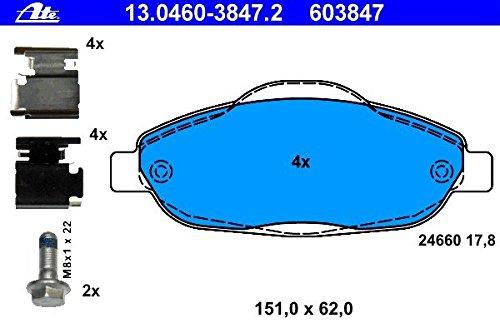 ATE 13046038472 Set pastiglie freno a disco