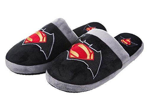 DC Comics Batman V Superman Slip On Hausschuhe