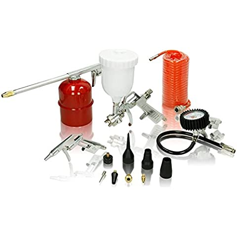 Herramientas de aire comprimido de aire a presión pistola de conjunto de herramientas para compresor 13 tlg compresor de inflado de aire comprimido
