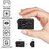 MQ8 Mini Kamera Full HD 1080P Auto DVR Camcorder Recorder Überwachungskamera unterstützt TF-Karte Tiny Nanny Cam Infrarot Nachtsicht Digital Video Recorder eingebauter Akku