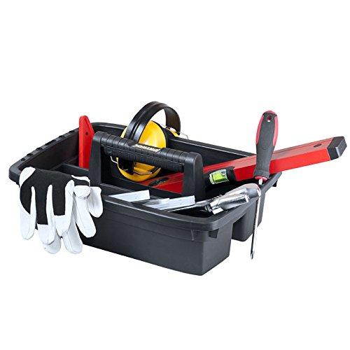 Kunststoff Werkzeugkoffer HD Box Trophy 2 Plus, 80×35,5cm Kasten Werzeugkiste Sortimentskasten Werkzeugkasten Anglerkoffer - 7