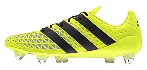 adidas Ace 16.1 SG, Chaussures de Foot Homme Jaune