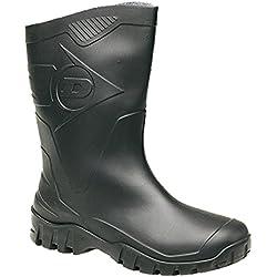 Dunlop Hombres duk680211 Botas - Negro, 10 UK