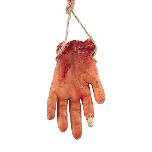 Candyboom Scary Anhänger, Halloween Haunted House Dress Up Halskette, Halloween Perform Requisiten, verfaulte Finger