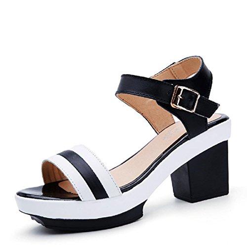 Donna pompe Moda Tacchi alti sandali Scarpe casual usato  Spedito ovunque in Italia