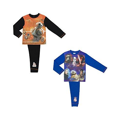 Letzten Jedi Boys Pyjamas Größe - 9-10 Years/134-140 cms (Star Wars-pyjama Für Erwachsene)