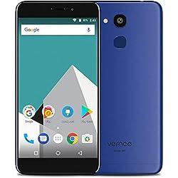 4G Téléphone Portable Débloqué Pas Cher Vernee M5, Double SIM Smartphone 5,2 Pouces Android Texture en métal & Ultra-Mince (6,9 mm)- Octa-Core 4Go + 64Go, 8MP + 13MP, 3300mAh, GPS + GLONASS Bleu