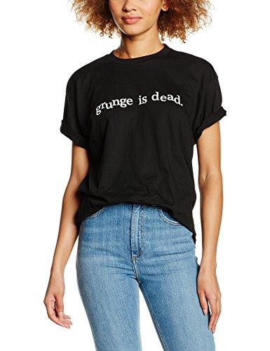 Shirtzshop T-shirt Grunge Is Dead. Kult-T-shirt  Unisex - Adulto    Nero nero XXL