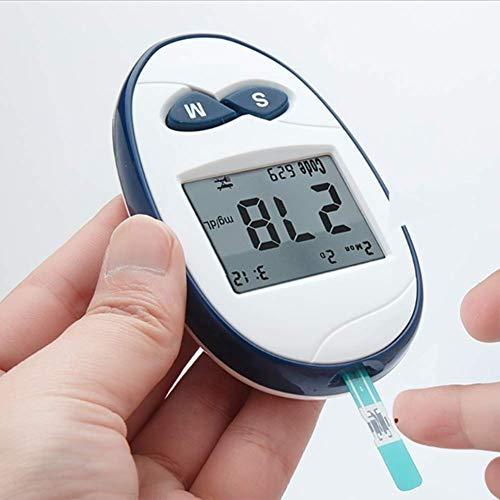 DHHZRKJ Blutzuckerüberwachungskit Sicheres und genaues Blutzuckermessgerät für mmol/L Diabetes-Blutzuckermessgerät zur Überwachung des Blutzuckers