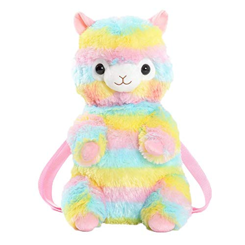 leap-G Kinderrucksack Animal Schule Tasche Rucksack for Kinder, kinderrucksack mädchen Rosa, Zipper Rucksack für die Grundschule