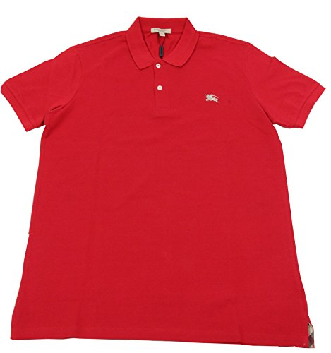 BURBERRY BRIT Herren Poloshirt Military RED L